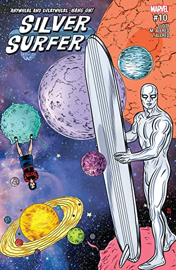 Silver Surfer (2016-2017) #10