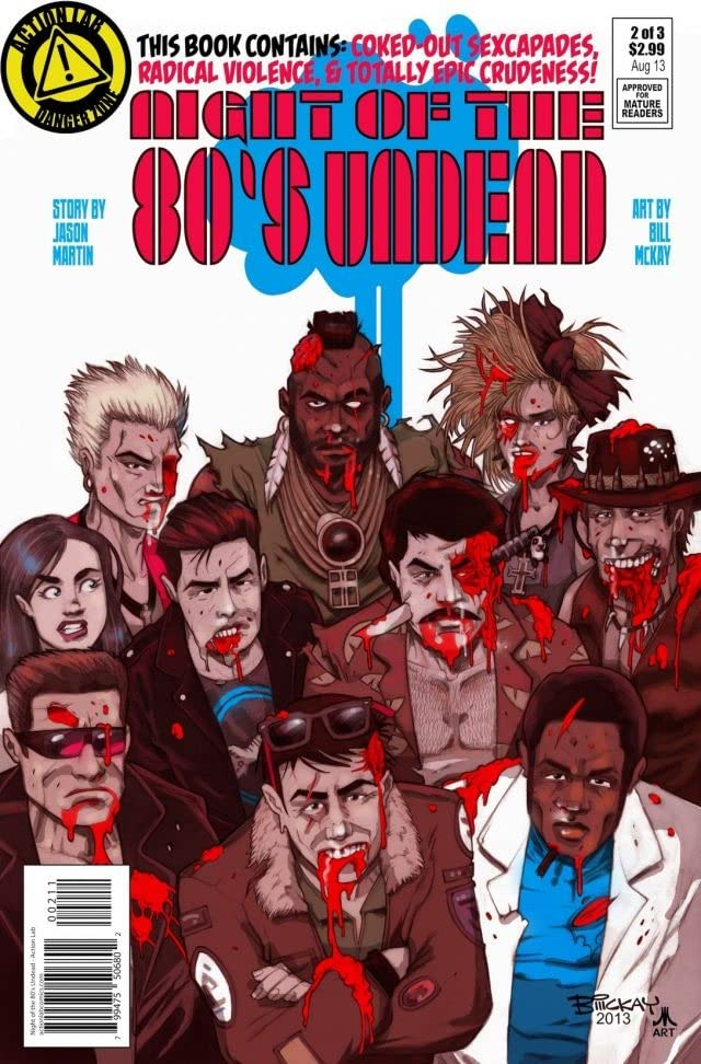 Night of the 80's Undead #2 (of 3)