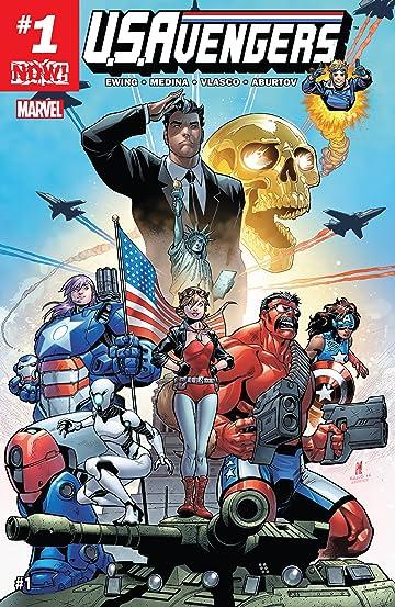 U.S.Avengers (2017) #1