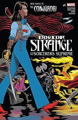 Doctor Strange and the Sorcerers Supreme (2016-2017) #4