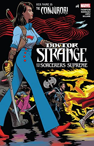 Doctor Strange and the Sorcerers Supreme (2016-2017) #4