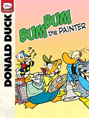 Donald Duck and Bum Bum the Painter