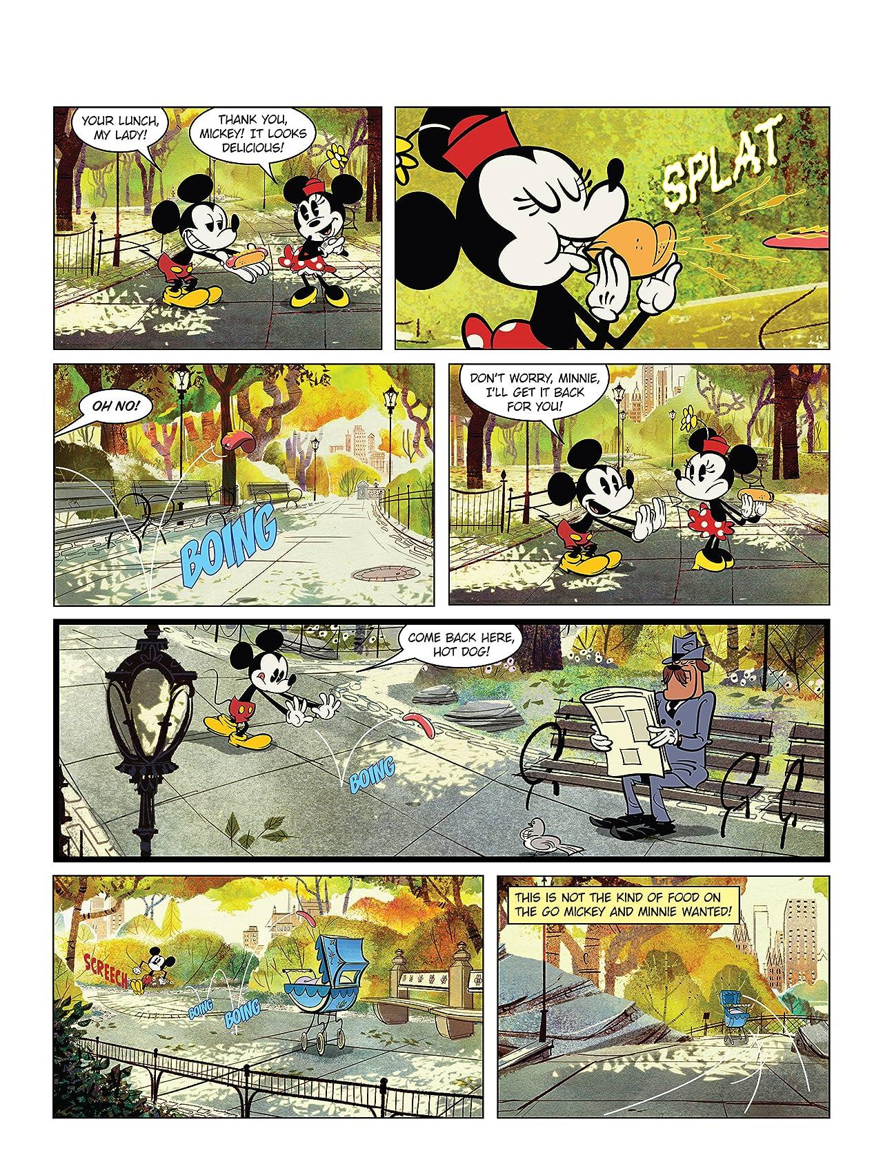 Mickey Mouse #2: Mickey Shorts