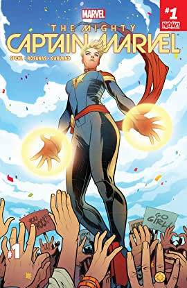 The Mighty Captain Marvel (2016-2017) #1