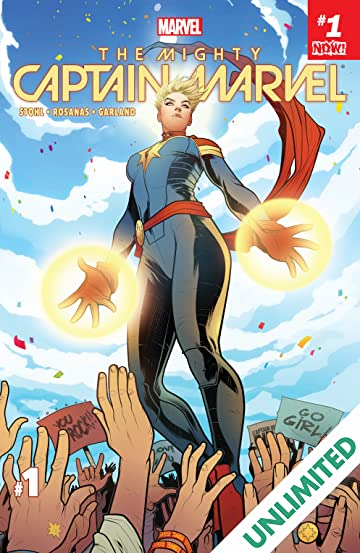 The Mighty Captain Marvel (2016-2017) #1