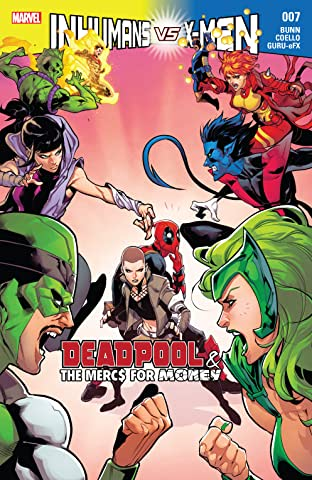 Deadpool & The Mercs For Money (2016-2017) #7