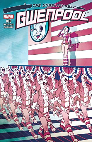 Gwenpool, The Unbelievable (2016-2018) #10