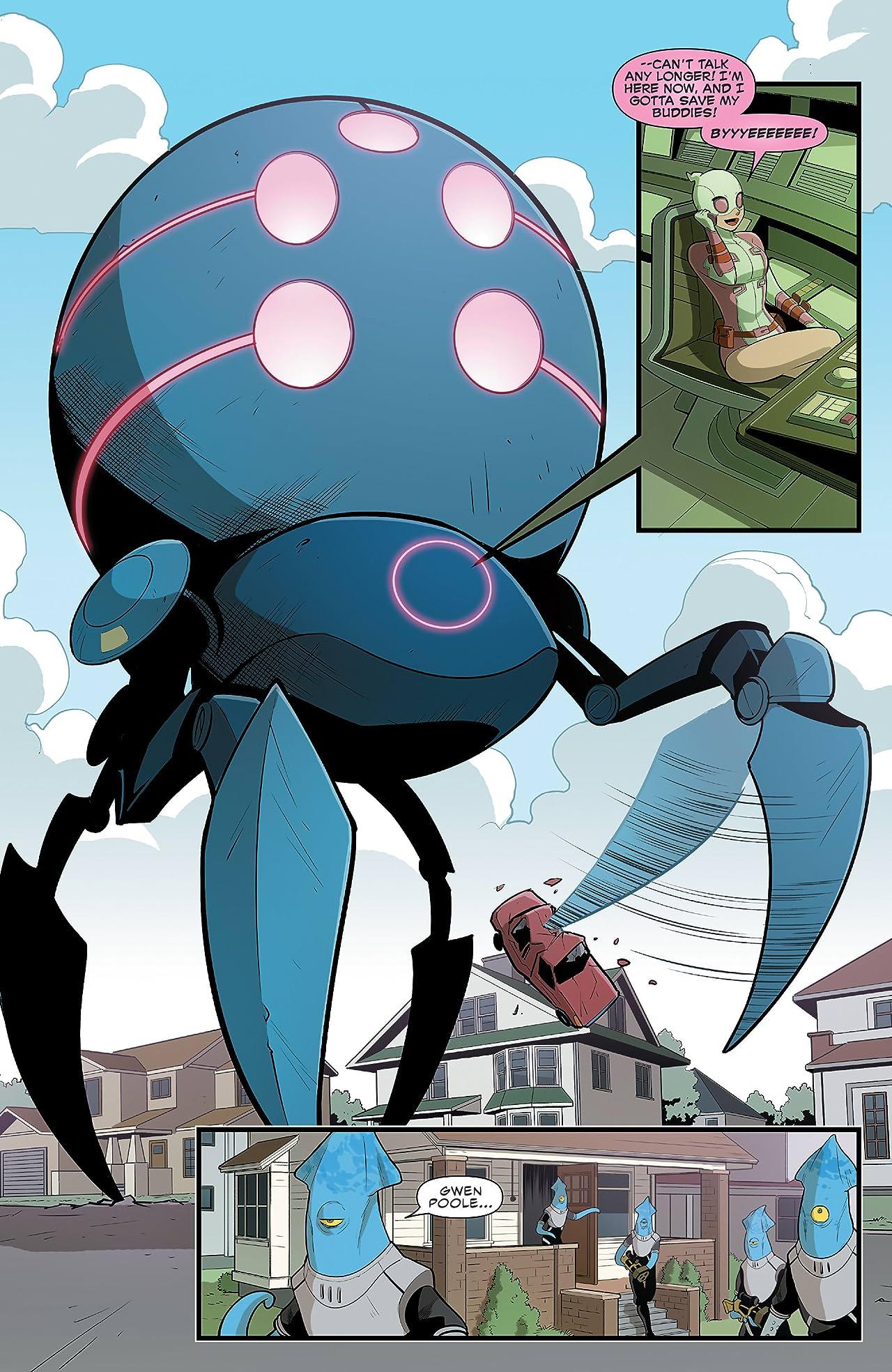Gwenpool, The Unbelievable (2016-2018) #10