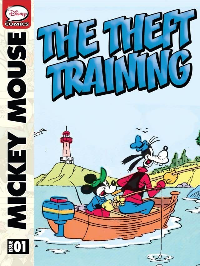 Mickey Mouse and the Theft Training