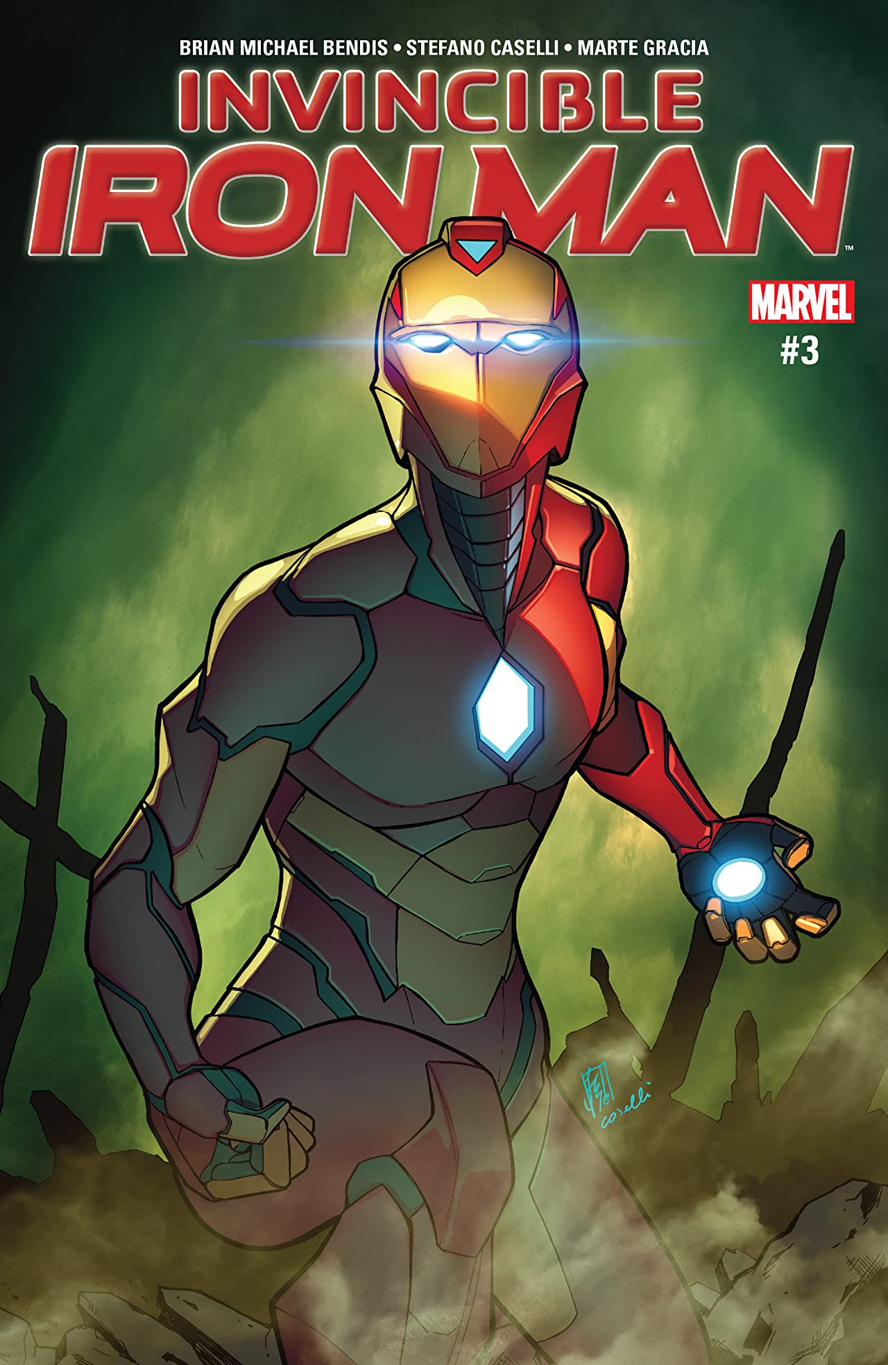 Invincible Iron Man (2016-) #3