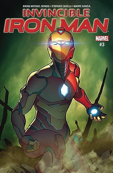 Invincible Iron Man (2016-2018) #3