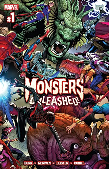 Monsters Unleashed (2017) No.1 (sur 5)