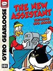 Gyro Gearloose and Gus Goose, the New Assistant