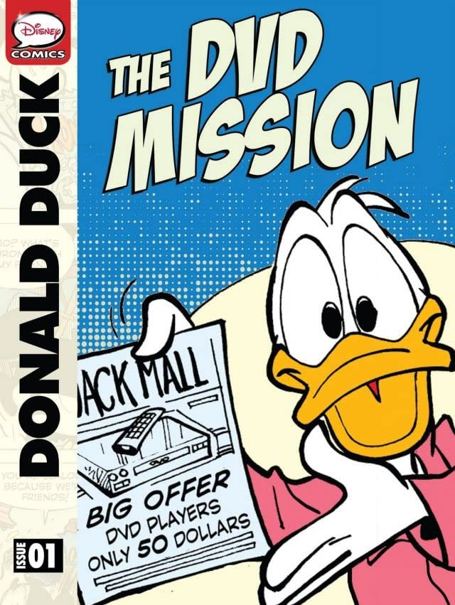 Donald Duck and the DVD Mission