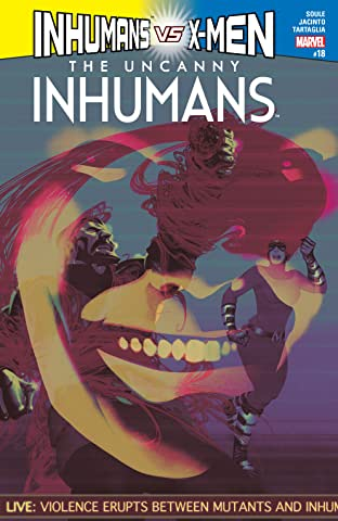 Uncanny Inhumans (2015-) #18