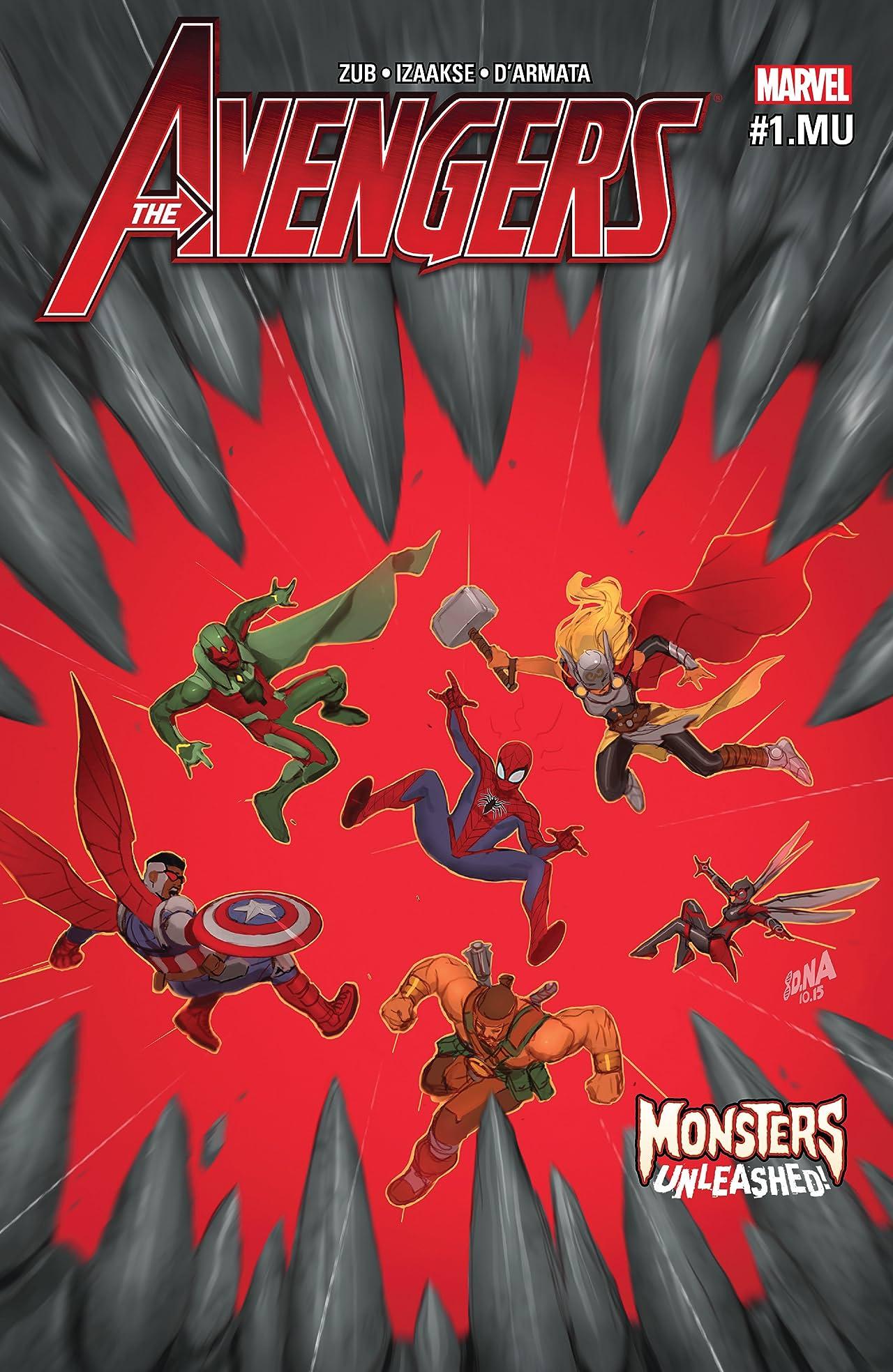 Avengers (2016-) #1.MU