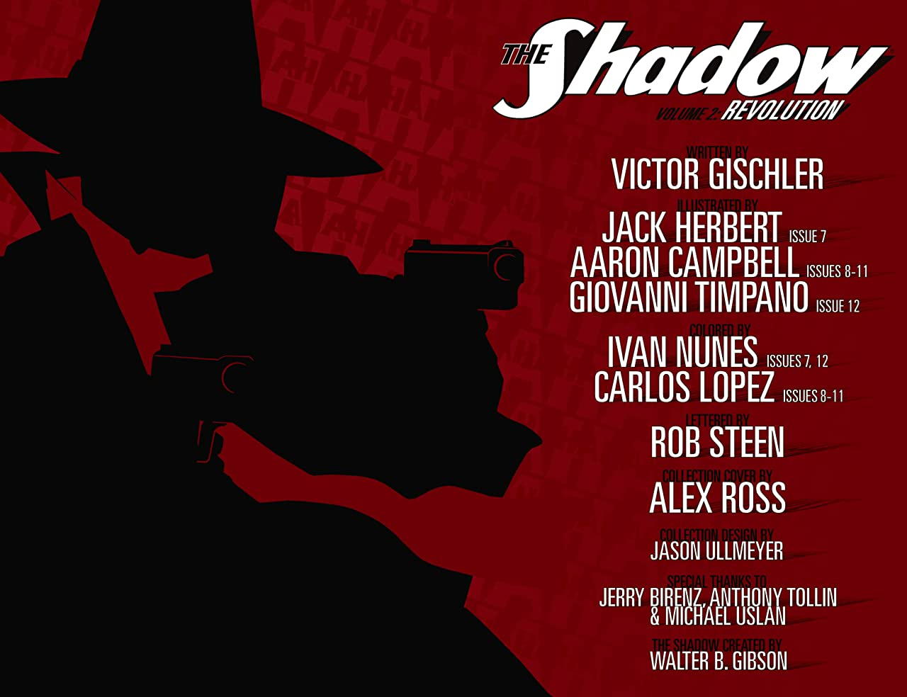 The Shadow Vol. 2: Revolution