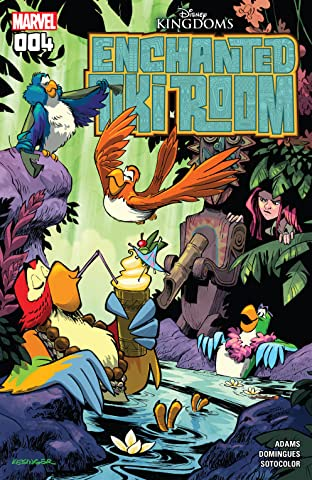Enchanted Tiki Room (2016-2017) #4 (of 5)