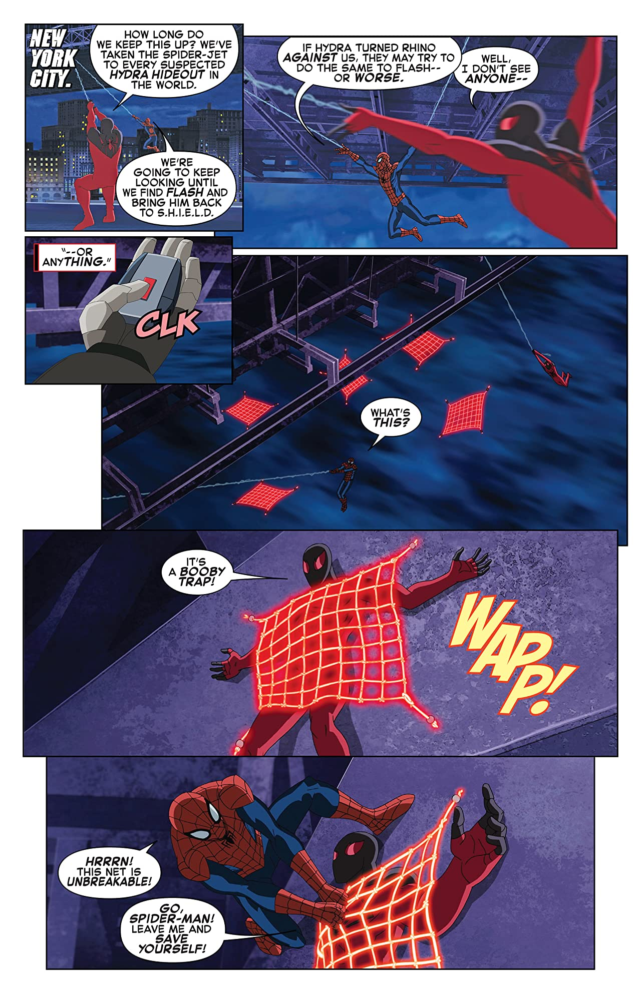 Marvel Universe Ultimate Spider-Man vs. The Sinister Six (2016-2017) #7