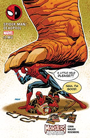 Spider-Man/Deadpool (2016-) #1.MU