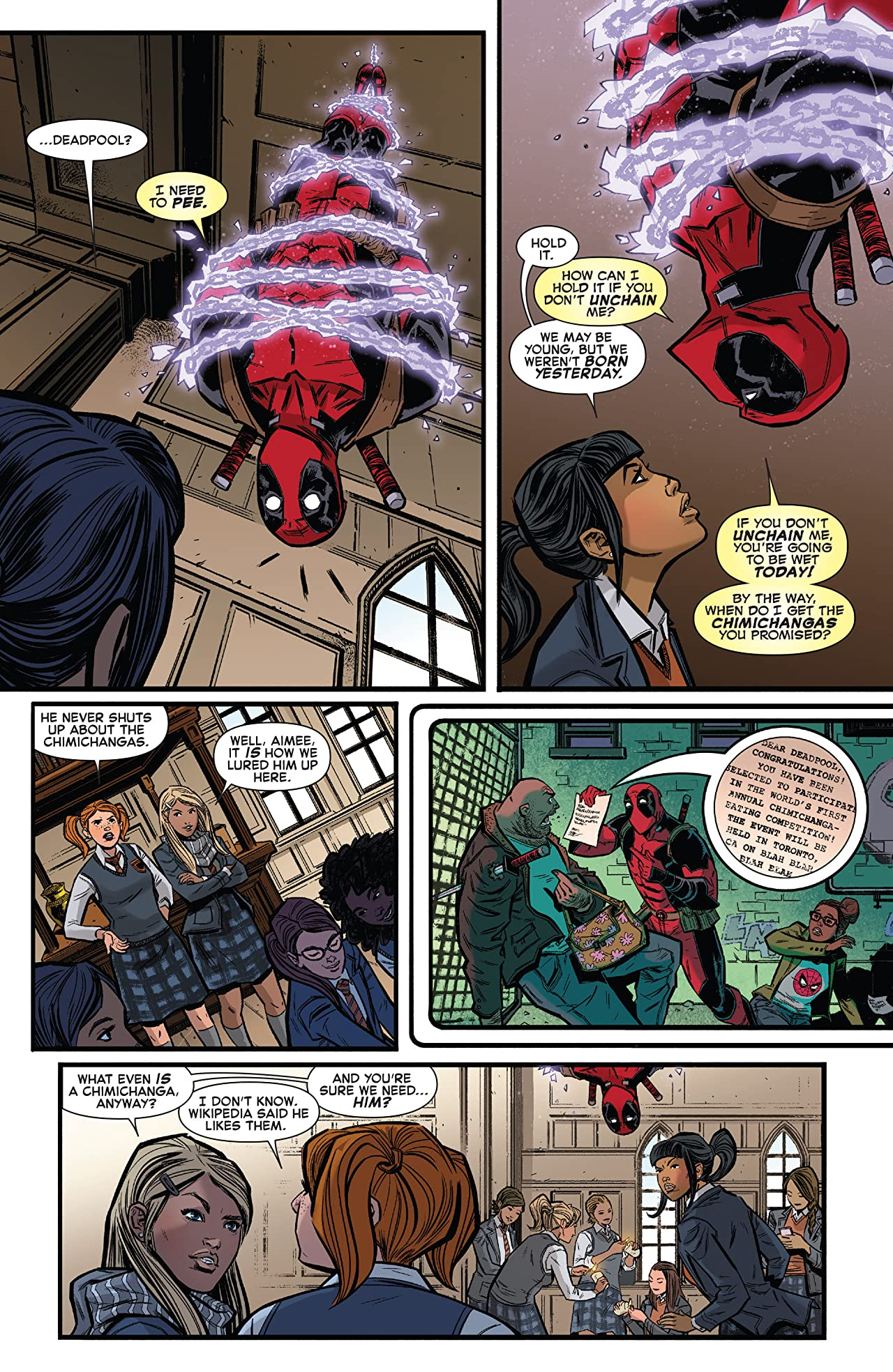 Spider-Man/Deadpool (2016-2019) #1.MU