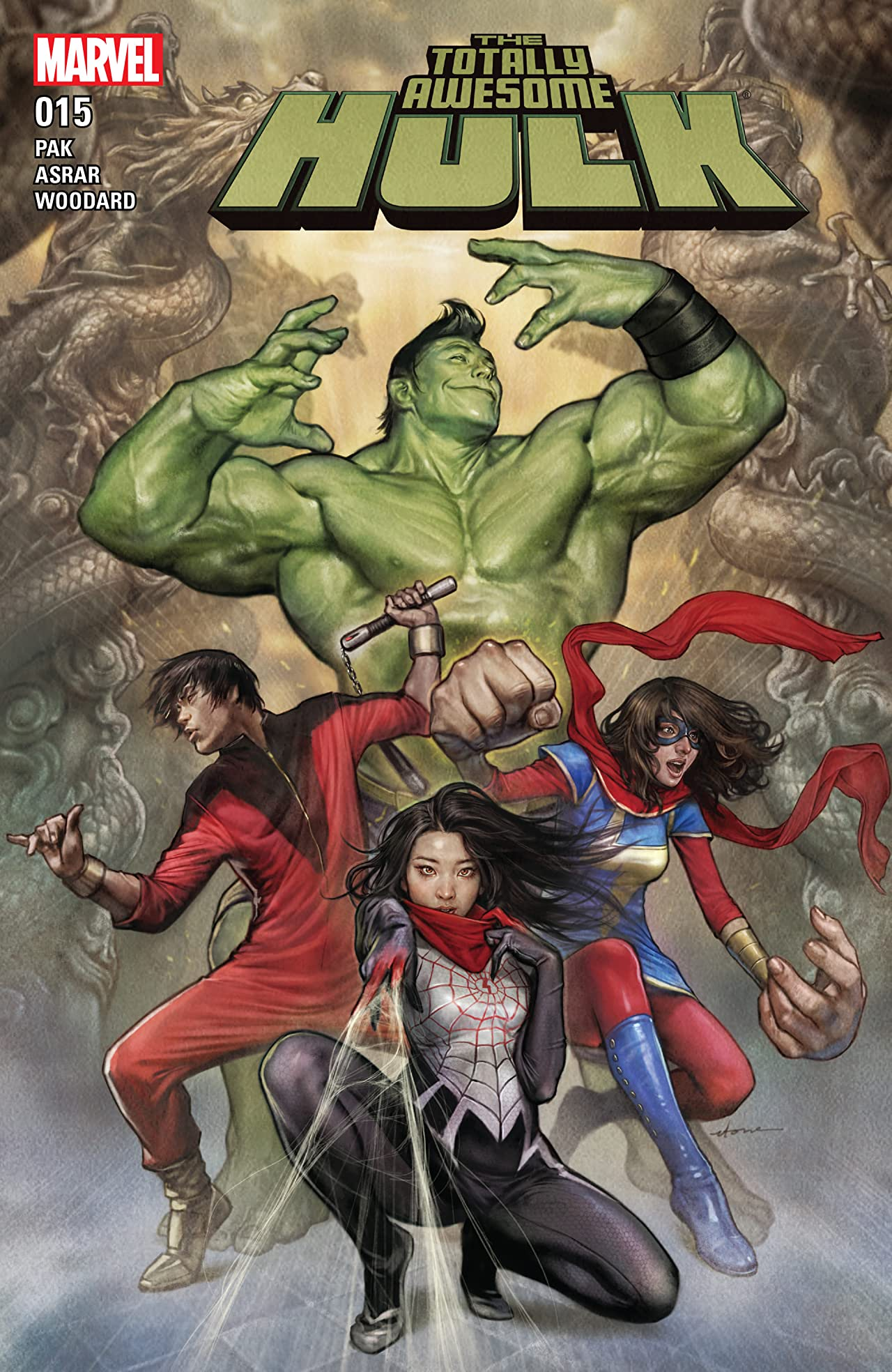 The Totally Awesome Hulk (2015-) #15