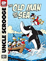 Scrooge McDuck and the Old Man and the Sea