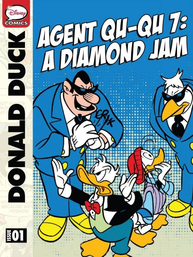 Donald Duck Agent Qu-Qu 7: a Diamond Jam