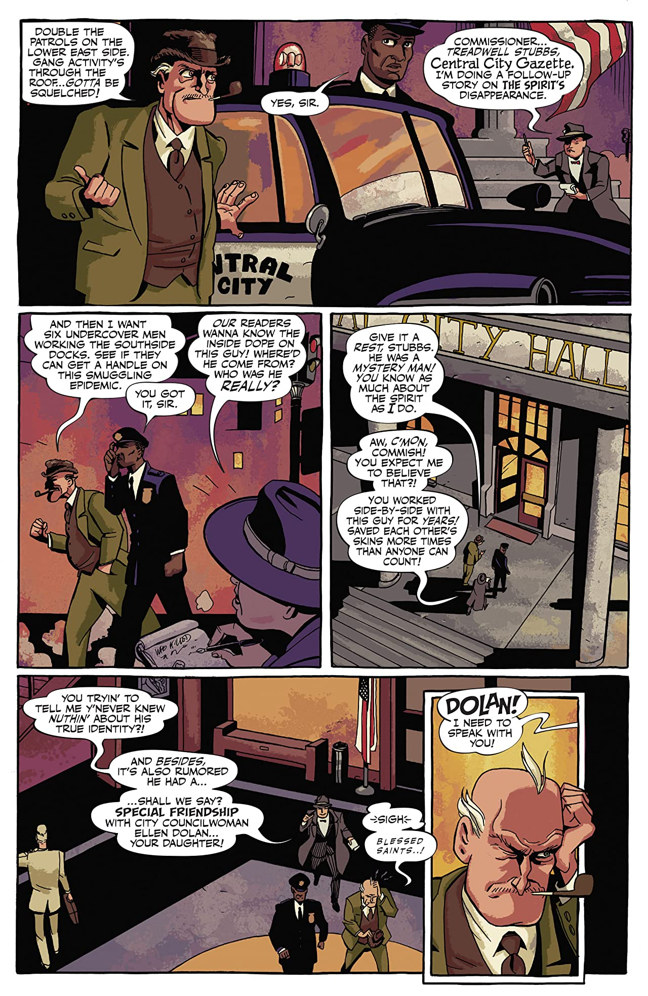 Will Eisner's The Spirit: The Spirit Returns
