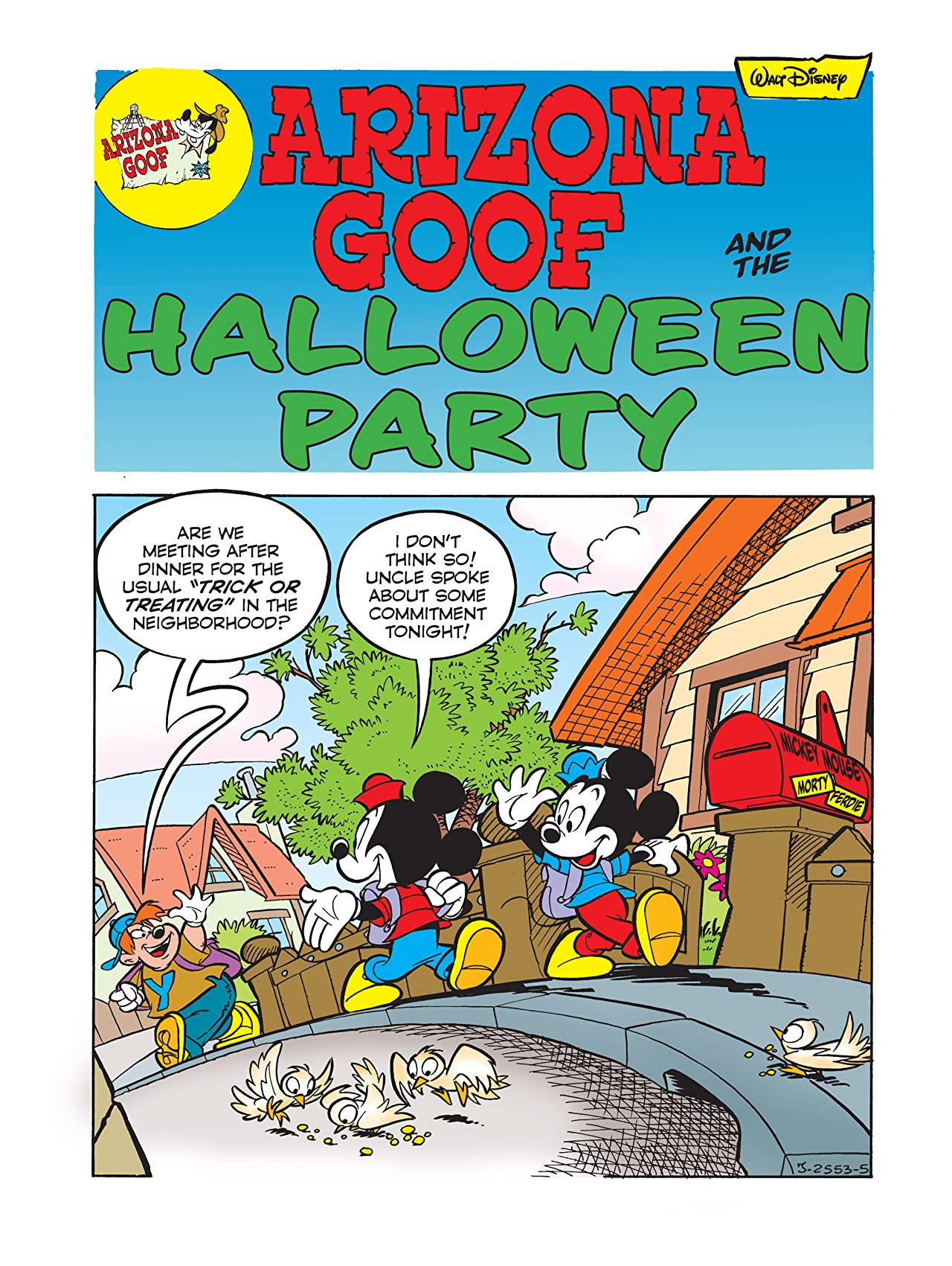 Arizona Goof and the Halloween Party