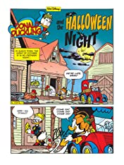 Donald Duckling and the Halloween Night