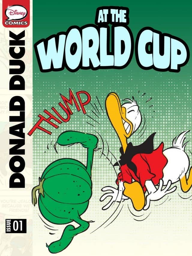 Donald Duck at the World Cup #1