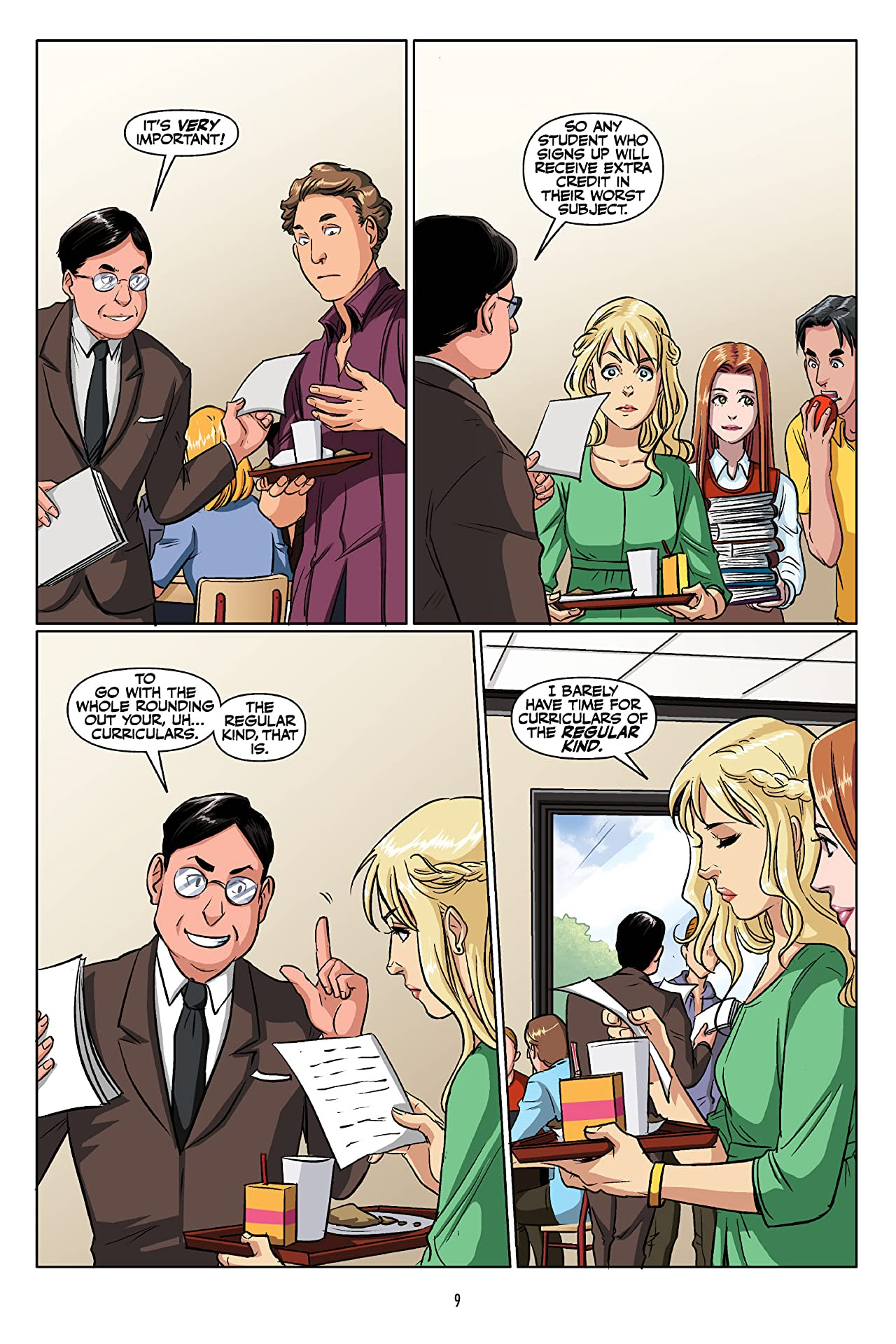Buffy: The High School Years--Glutton For Punishment