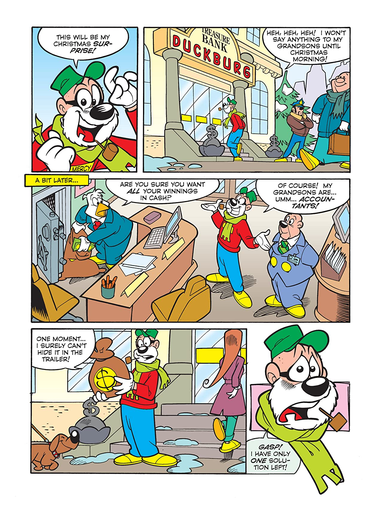 The Beagle Boys and the Christmas Surprise