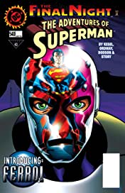 Adventures of Superman (1986-2006) #540