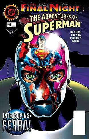 Adventures of Superman (1986-2006) #540