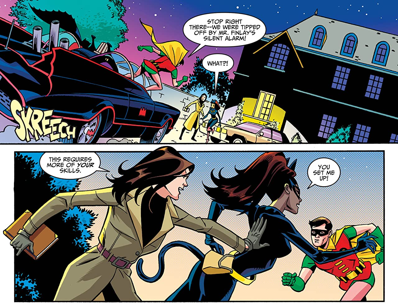 Batman '66 Meets Wonder Woman '77 (2016-2017) #1