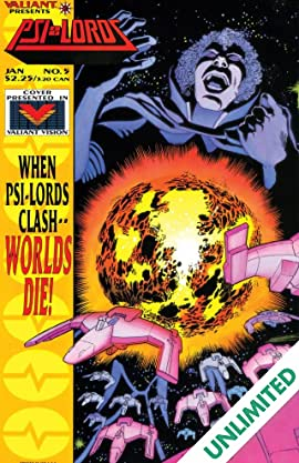 Psi-Lords (1994) #5