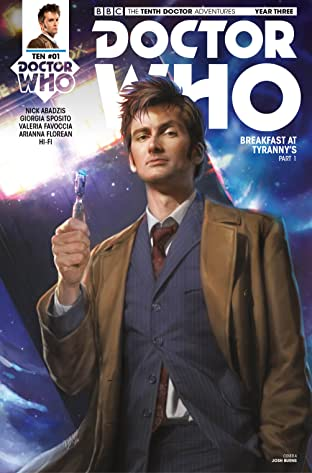 Doctor Who: The Tenth Doctor (2017-) #1