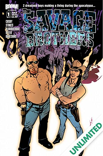 Savage Brothers #1 (of 3)