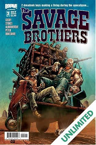 Savage Brothers #2 (of 3)