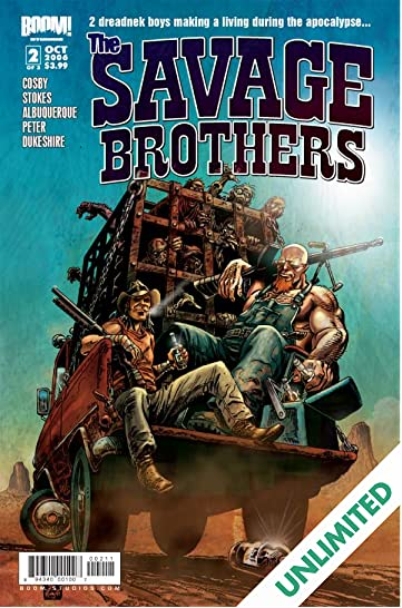Savage Brothers #2 (of 3)