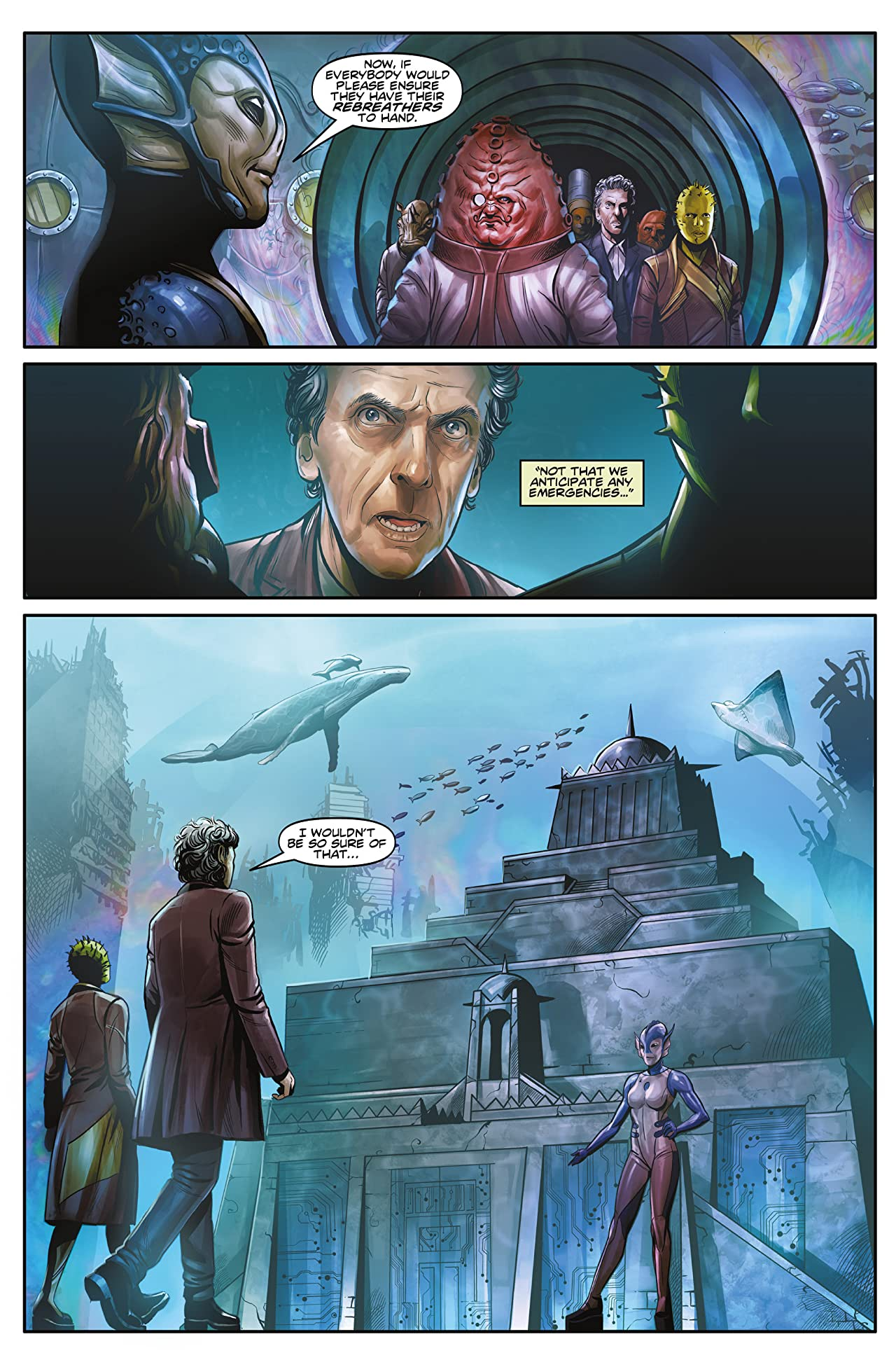 Doctor Who: The Twelfth Doctor #3.1