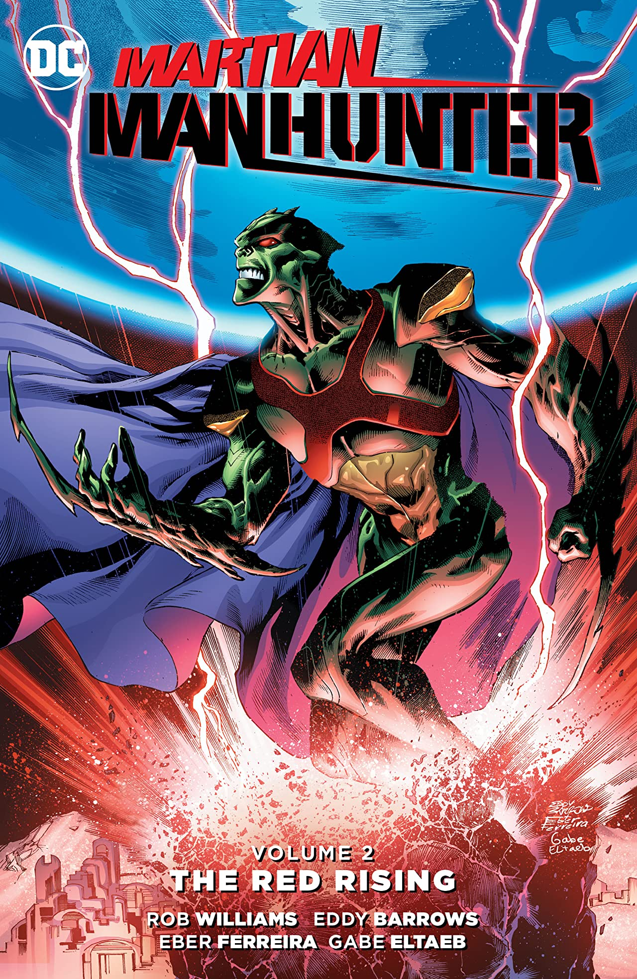 Martian Manhunter (2015-2016) Vol. 2: The Red Rising