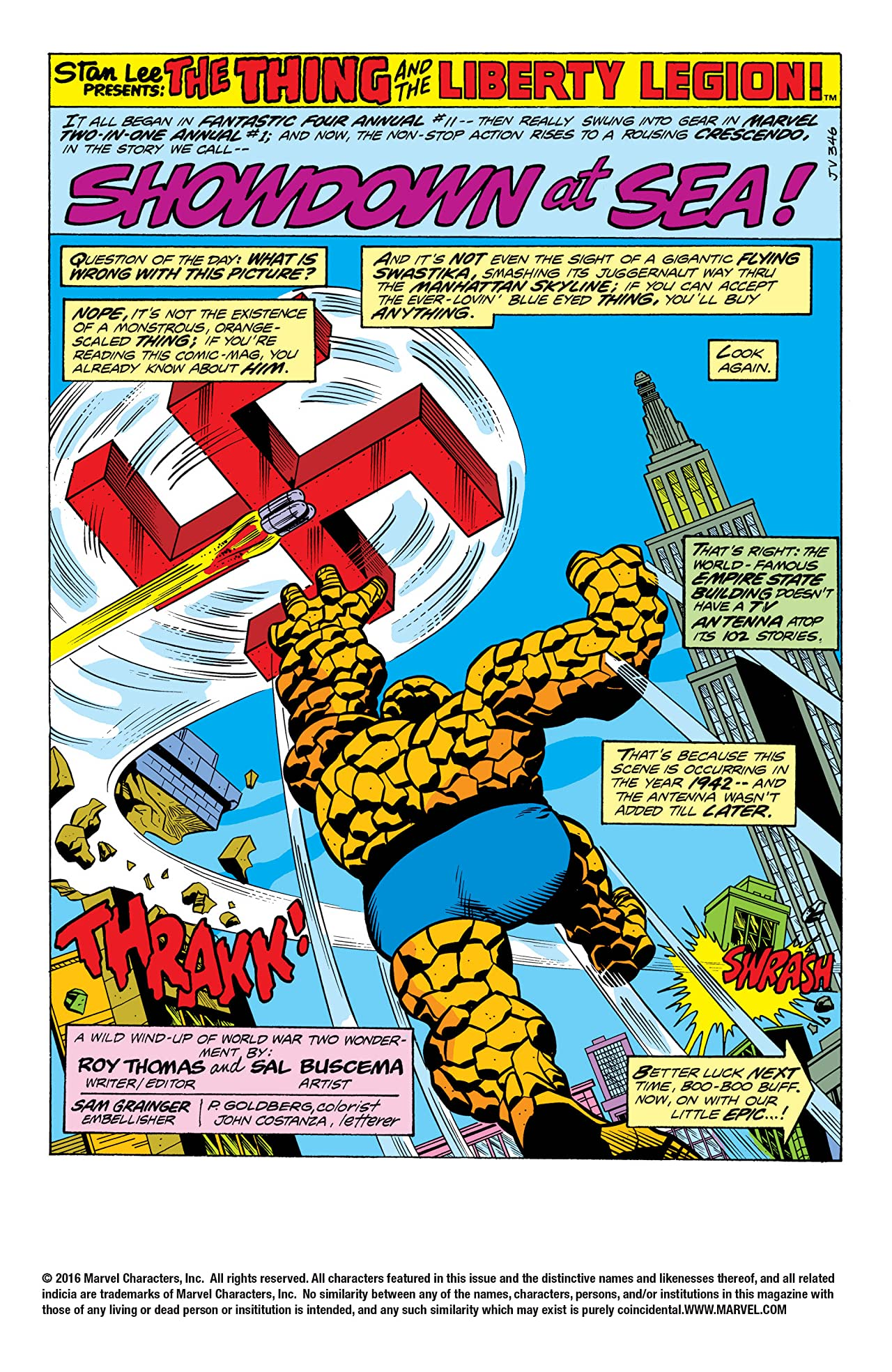 Marvel Two-In-One (1974-1983) #20