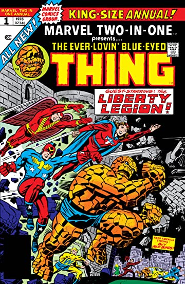 Marvel Two-In-One (1974-1983) Annual #1