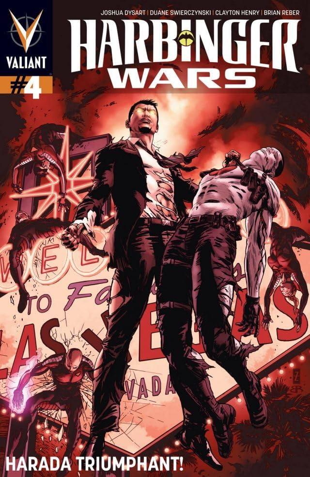 Harbinger Wars #4 (of 4): Digital Exclusives Edition