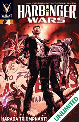 Harbinger Wars #4 (of 4): Digital Exclusives Edition