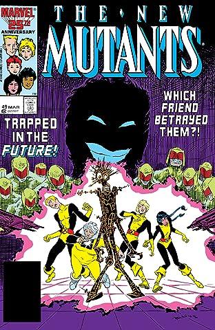 New Mutants (1983-1991) #49