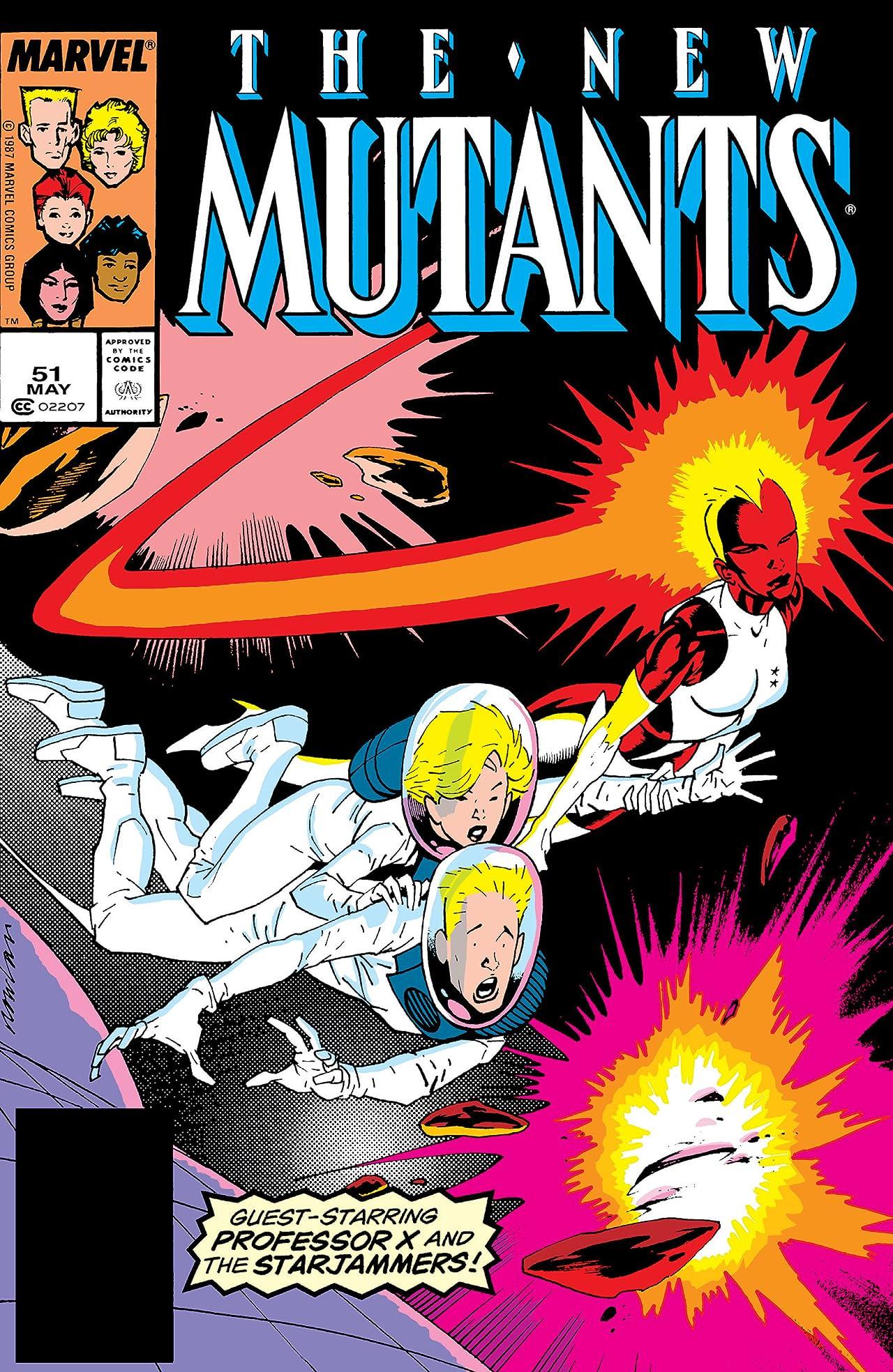 New Mutants (1983-1991) #51